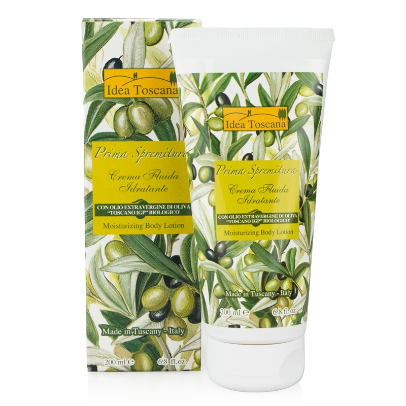 Italian Olive Oil Skin Care Products by Idea Toscana